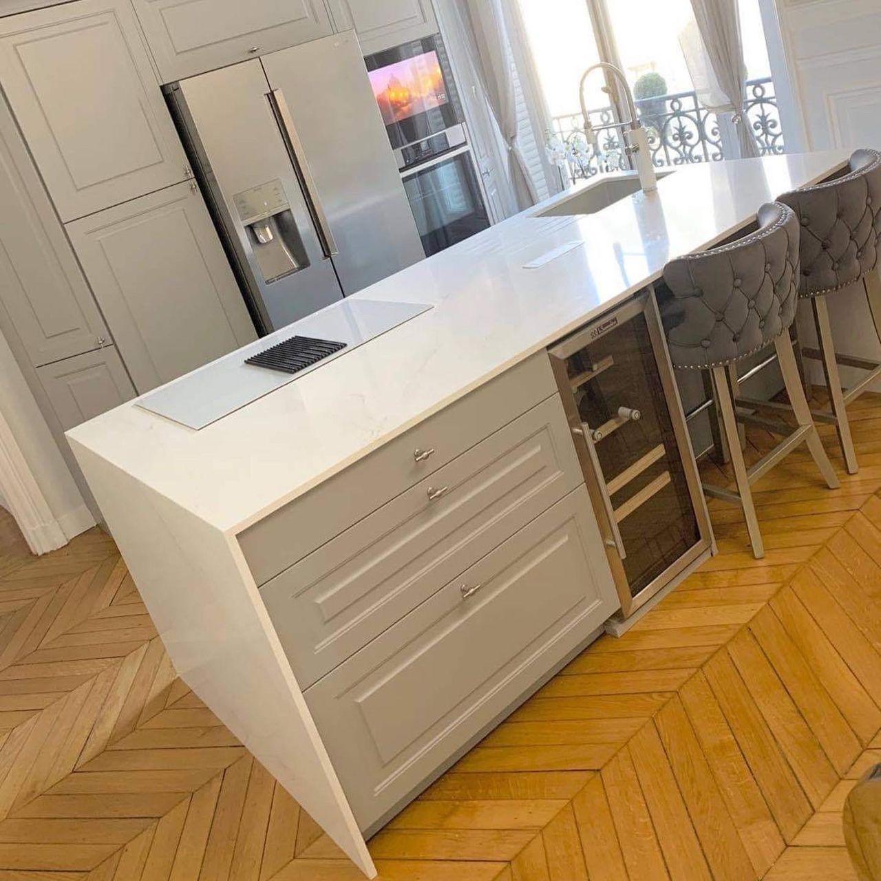 Plan-travail-cuisine-design-marbrerie-silestone-STC-Paris